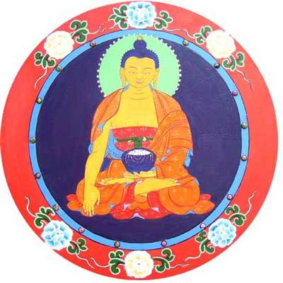 embracing the buddha