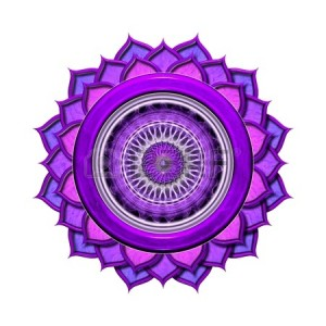 13306565-the-crown-chakra-isolated