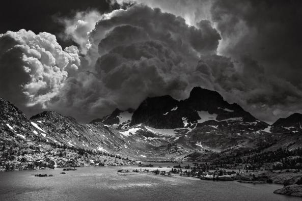 Garnet Lake, Thunderclouds